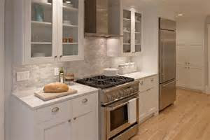 white galley kitchen ideas 12 luxury all white kitchens with a attention to