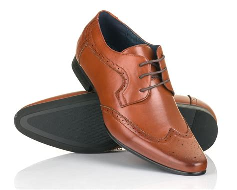 Brown Shoes : Brown Brogue Shoes, Oxford Shoes