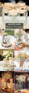 country wedding decorations rustic wedding ideas 30 ways to use jars
