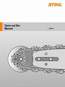 Stihl Chain And Bar Manual