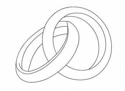 Ring Drawing Colorare Disegni Mariage Rings Line