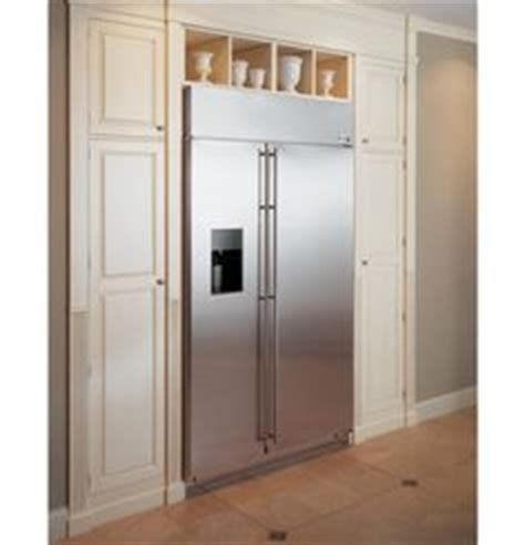 built  refrigerator cabinet surround traditional kitchens pinterest refrigerator