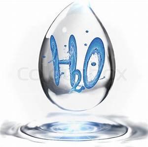 Verdunstung Wasser Berechnen Formel : das wasser formel in einem tropfen wasser stockfoto colourbox ~ Themetempest.com Abrechnung