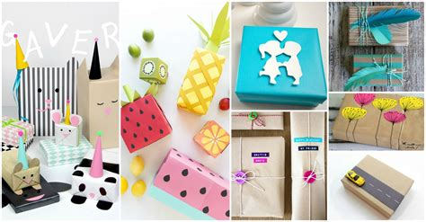 cool diy gift wrapping ideas   boost