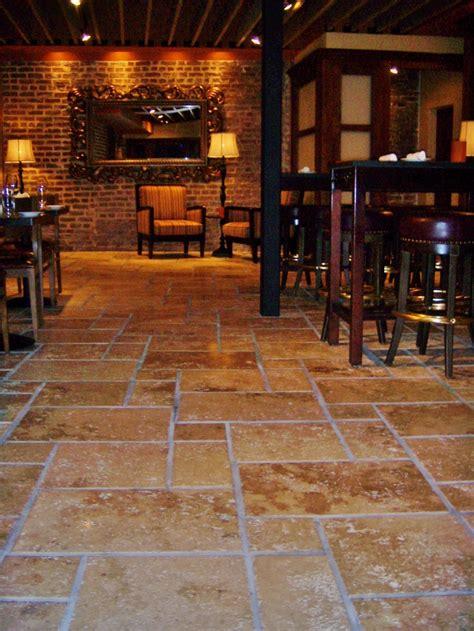 travertine floors set   versaille pattern flooring