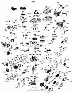 Kohler Xt675 One Page Model Composite Parts Diagram For Engine