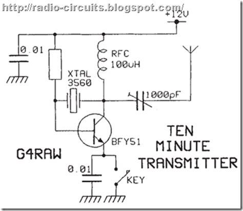 Radio Circuits Blog Super Simple Transmitter