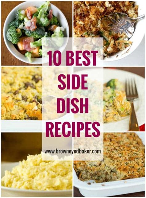 best side dishes 28 best side dishes recipes 52 ways to cook cowboy cornbread trifle a savory bacon parmesan