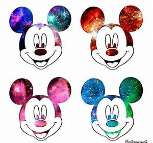 Pics For > Mickey Mouse Galaxy Tumblr