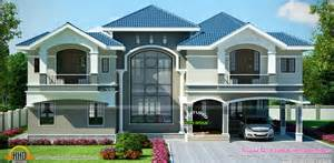 luxury home plans luxury house in beautiful style kerala home design