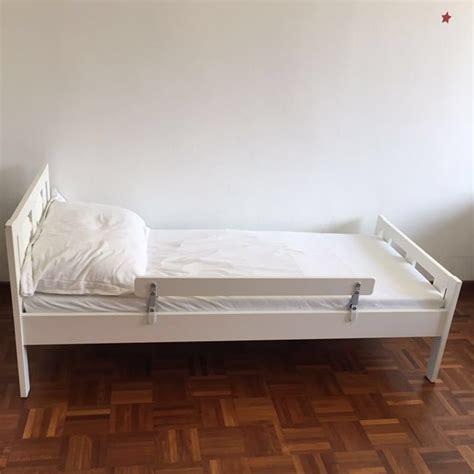 Ikea Kritter Bed Frame And Mattress, Furniture, Beds
