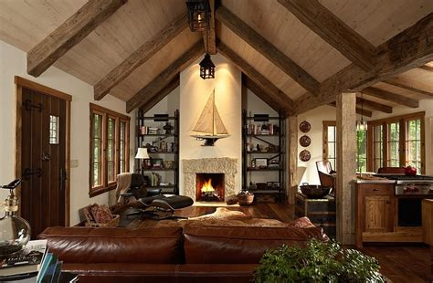 Dark Brown Living Room Ideas by 30 Rustic Living Room Ideas For A Cozy Organic Home
