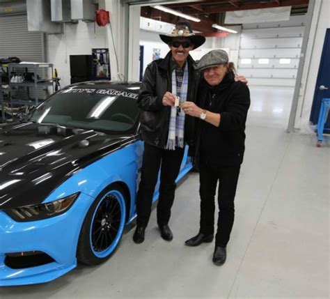 pettys garage mustang gt detailed acdc singer brian