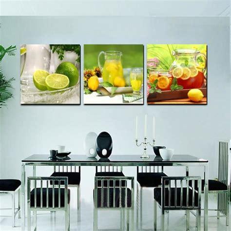 objet de decoration pour cuisine accueil cuisine décoration toile moderne peinture murale fruits citron thé image pour salle à
