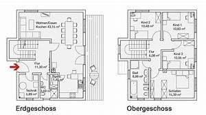 2 Geschossiges Haus : frei geplante und energiesparende fertigh user ~ Frokenaadalensverden.com Haus und Dekorationen