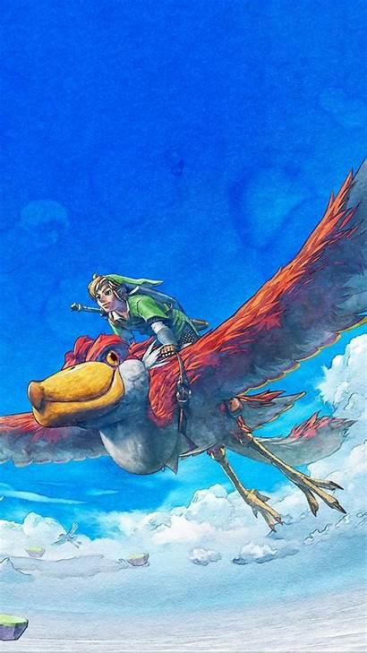Zelda Iphone Legend Sword Skyward Wallpapers Backgrounds