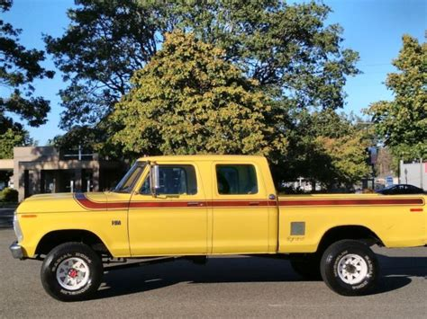 ford   crew cab highboy excellent condition