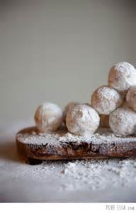 Christmas Snowball Cookies Gluten Free