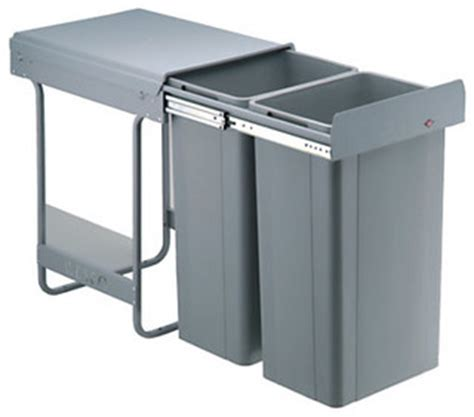 Recycling Kitchen Bin Trash Cans other metro by John Lewis