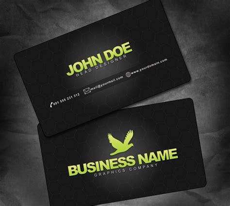 Business Card Psd 30 Psd Business Card Templates Web3mantra