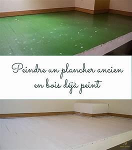 Peindre Un Mur Deja Peint Sans Poncer : peindre un plancher en bois meilleures images d ~ Dailycaller-alerts.com Idées de Décoration