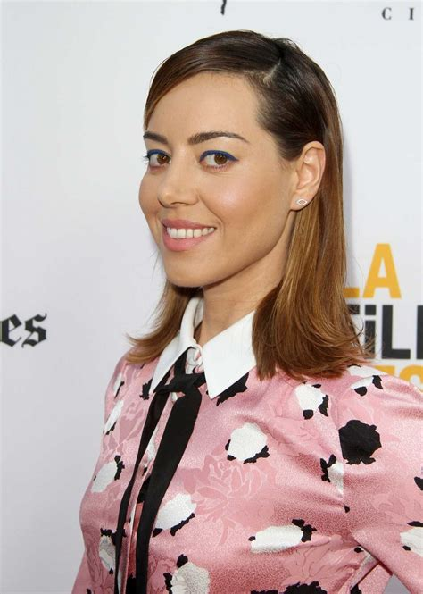 Aubrey Plaza At Ingrid Goes West Premiere In Culver City