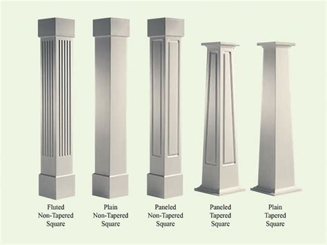 pillar designs for home interiors craftsman style columns porch craftsman style wood