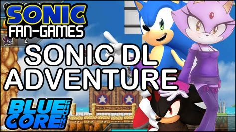 sonic fan made games sonic fan games sonic dl adventure release 2 gameplay