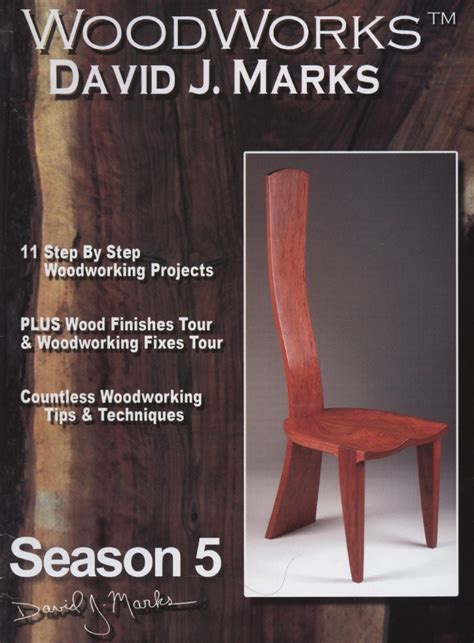 woodworking projects woodworks season  dvd david  marks