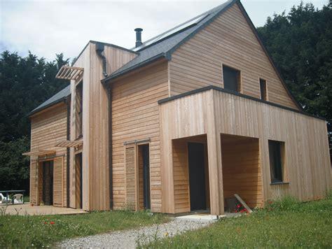 prix construire maison maison ossature bois construire