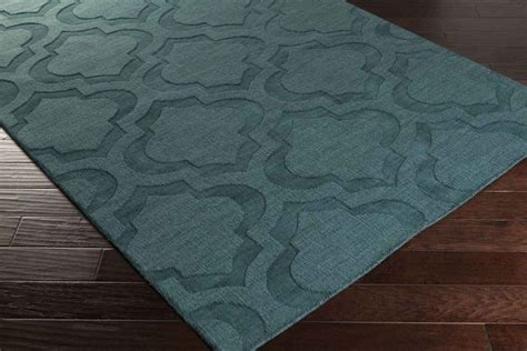 teal accent rug artistic weavers central park kate awhp4010 teal area rug