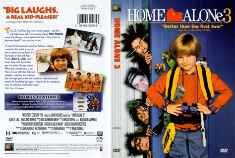 Home Alone 3 Scan  Movie Dvd Scanned Covers  119home Alone 3 Scan Hires  Dvd Covers