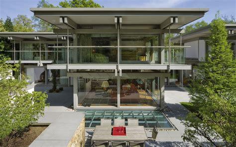 Huf Haus Flachdach by Design Haus Flat Roof In Glas Und Holz Architektur Huf