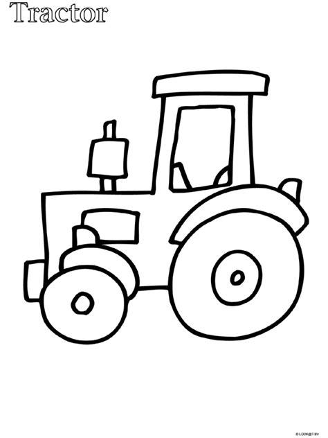 Kleurplaat Simpele Auto by Kleurplaat Peuter Kleurplaat Tractor Kleurplaten Nl