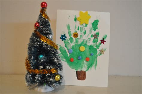 homemade christmas card ideas to do with kids