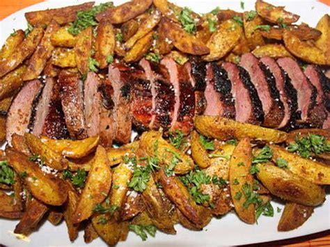 cuisiner le magret de canard au four les meilleures recettes de plancha et canard