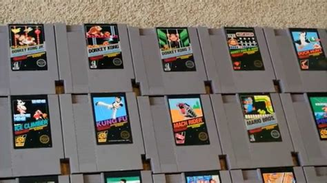 00 games were released in japan. Nintendo NES 5 Screw 86 Complete Cart Set - Kacy Da Game ...