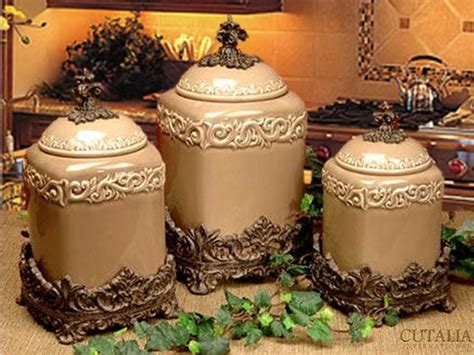 Tuscan Kitchen Canisters by Impressive Tuscan Kitchen Canisters 7 Tuscan Design
