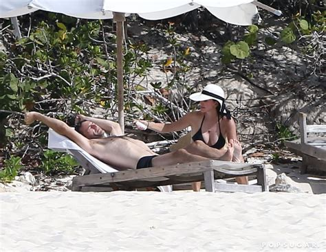 Courteney Cox in a Bikini on Vacation With Johnny McDaid ...