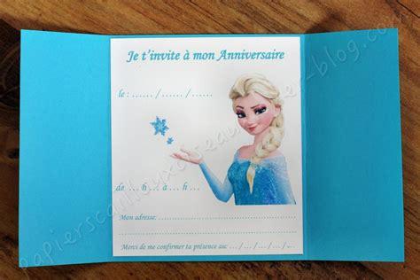 Carte Invitation Anniversaire Reine Des Neiges