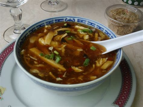 recette de cuisine asiatique recette de cuisine chinoise la soupe de poulet pékinoise