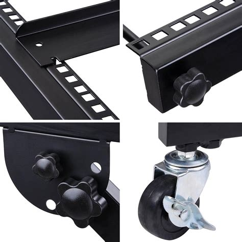 rack mount mixer 16u 19 quot rack mount mixer stand studio equipment cart