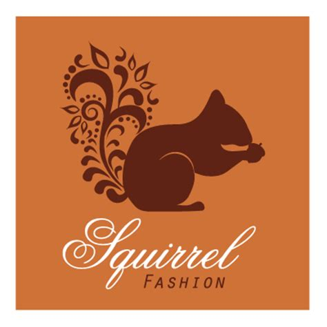 squirrel logo design gallery inspiration logomix