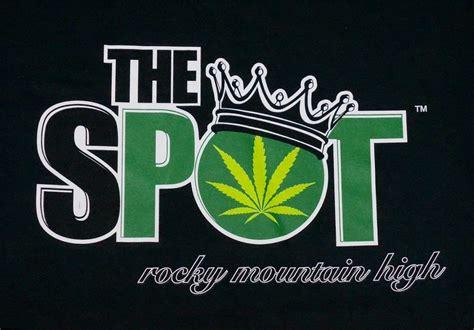 The Spot   Pot Leaf Logo T Shirt   The Spot 420