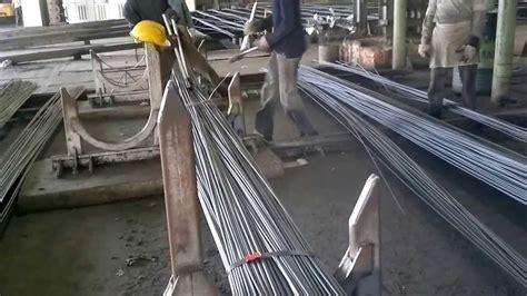 bundling machines  steel rolling mills youtube