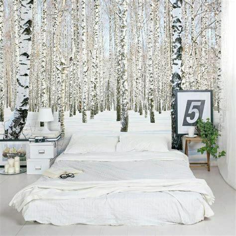 papier peint original chambre 50 photos avec des idées pour poser du papier peint intissé
