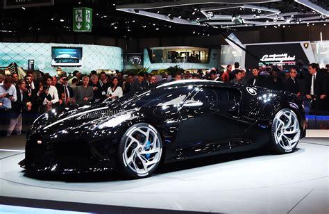 bugatti la voiture noire unveiled  expensive car
