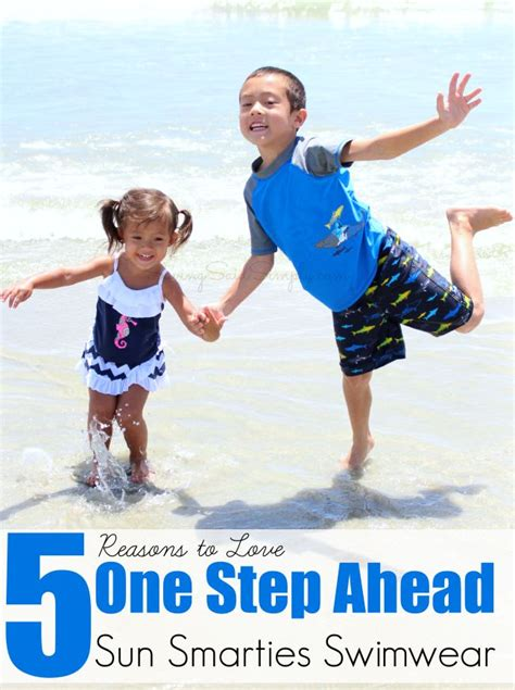 reasons to one step ahead sun smarties swimwear