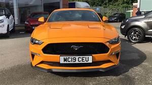 Ford MUSTANG 2019 - Orange Fury | £40,000 | Wilmslow | TrustFord