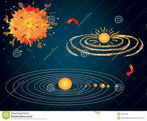 Big Bang Stock Illustration